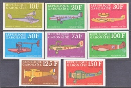 GABON  C 105 A-h    IMPERFS    *   EARLY  AVIATION - Gabon