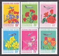 GABON  C 109-14   *   FLOWERS  CARNATIONS - Gabon