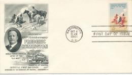I6893 - USA / FDC (1961) Washington, D.C. - American Indians
