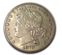 U.S.Pattern Morgan 100 Cents 1878 Replica - Federal Issues