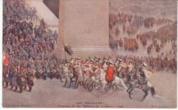 Pantheon De La Guerre, Les Goumiers Arab Cavalry C1910s Vintage Postcard - War 1914-18
