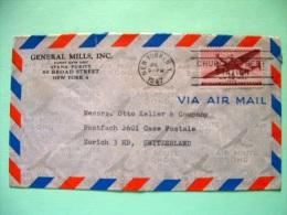 USA 1947 Cover To Switzerland - Plane - United States