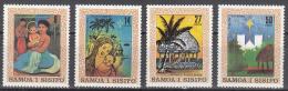Samoa    Scott No. 539-42     Mnh     Year  1980 - Samoa