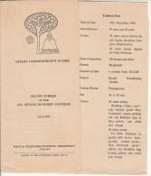 Ceylon Bulletin 1968 Buddhist Congress, Religion, Buddhism, As Scan - Buddhism