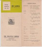 Sri Lanka Bulletin 1972, Fishes, Fish, Food Preparation,  As Scan - Fishes