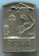 LEOBEN, Styria, Austria, CDTV, 1928. Vintage Pin, Big Badge - Steden