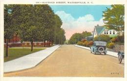 ETATS UNIS   NORTH CAROLINA  WAYNESVILLE  HAYWOOD STREET - Etats-Unis