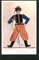 CPA Polskie Typy Ludowe, Lowicz, Pole En Costume Typique - Etnicas