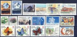 ##G1014. Finland 1990. 17 Items. MNH(**) - Ungebraucht