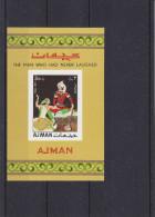 Ajman - Contes Arabes - Michel Bloc 13 B - NON Dentelé - Märchen, Sagen & Legenden