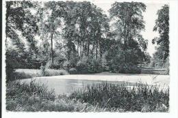 Evergem. Rijkstehuis voor Schipperskinderen. Een hoekje uit het park met vijver.