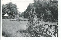 Evergem. Rijkstehuis voor Schipperskinderen. Een hoekje uit het park met zwemdok.