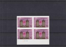 Musique - Orgues - Belgique - COB 2300 ** - MNH - Bloc De 4 NON Dentelé - Avec Numéro De Planche - Très Rare - Muziek