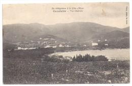 CPA Cavalaire Sur Mer 83 Var Vue Générale Vignes Au 1er Plan édit  Malet à La Croix écrite - Cavalaire-sur-Mer