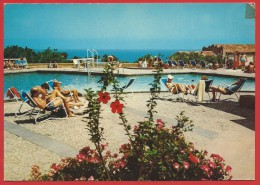 CARTOLINA VG ITALIA - CEFALU' (PA) - Club Mediterranée - La Piscina - 10 X 15 - ANNULLO CEFALU' 1973 - Palermo