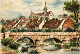 CPSM (68)  ALTKIRCH - Vieux Quartier Sur L'Ill   - Barré & Dayez 2316 C - Altkirch
