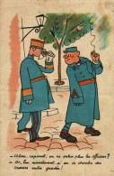 CPA - Humour Militaire - Illustrateur - Alors, Caporal, On Ne Salue Plus Les Officiers ? Collection Comique Militaire 27 - Humoristiques