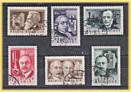 Belgique  1955 Inventeurs   N° 973 à 78 Oblitéré  Série Complete - Used Stamps
