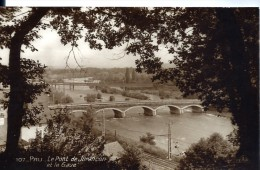 D64 - PAU  - Le Pont de JURANCON et le Gave