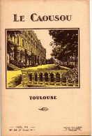 BULLETIN DE L'ECOLE LE CAOUSOU TOULOUSE NOEL 1930 - Diplômes & Bulletins Scolaires
