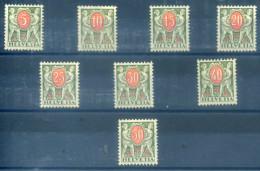 SWITZERLAND - 1924 POSTAGE DUES SMOOTH GUM - Switzerland