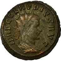 Monnaie, Claude II Le Gothique, Antoninien, TTB, Billon, Cohen:293 - 5. L'Anarchie Militaire (235 à 284)
