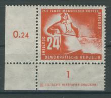 Michel No. 274 ** postfrisch DZ Druckereizeichen / Rand Gummimangel