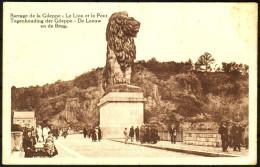 Barrage De La Gileppe - Le Lion Et Le Pont - De Leeuw En De Brug -  Non Circulé - Not Circulated - Nicht Gelaufen. - Baelen
