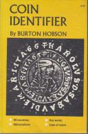 COIN IDENTIFIER Par Burton Hobson, édition De 1967 - Libros & Software