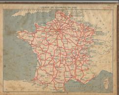 Calendrier Des Postes Du Rhone 69 De 1951 - Calendars