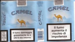 TABACCO - CAMEL COLLECTORS -  CAMEL BLUE  - EMPTY SOFT PACK ITALY - Contenitori Di Tabacco (vuoti)