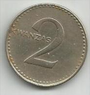 Angola 2 Kwanzas 1975. - Angola