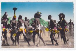 Chad - Tchad - Region de Daba - Danses apres la recolte du coton