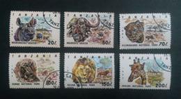 TANZANIA 1993 WILDLIFE NATIONAL PARKS CTO !! - Briefmarken