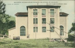 38 SAINT PIERRE DE MESAGE / Usine De Jouchy, Société Hydro-Electrique De Fure Et Morge / CARTE COULEUR - France
