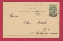 Belgique //  Carte Postale //  De Bruxelles  // 4 Février 1900  // - Cartoline [1871-09]