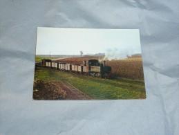 Train :  Pithiviers A Toury  Un Train De Betteraves Dans La Campagne Beauceronne 1962 - Cartoline