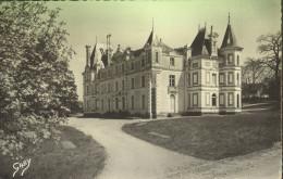 ESPERANTO Kastelo Gresillon Baugé Espérantista Kulturdomo Travelled 1957 - Autres Communes