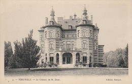 Belgique : PERUWELZ  - Le Château De M Duez - Tournai