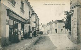 37 CONTINVOIR / Place De L'Eglise / - Altri Comuni