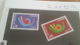 LOT 220341 TIMBRE DE ANDORRE FRANCAIS NEUF* N�226/227 VALEUR 40 EUROS