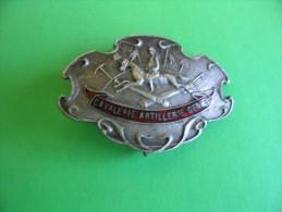 Militaria - Insigne - Medaille - Decoration - Cavalerie-Artillerie-Genie - Army