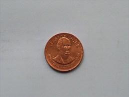 JAMES POLK - Presidential Hall Of Fame ( 26 Mm./ 6.4 Gr. / 1968 Franklin Mint - For Grade, Please See Photo ) ! - Pièces écrasées (Elongated Coins)