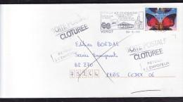 Boite Postale Clôturée  - Retour à L'envoyeur -  Sept 2000 - Marcophilie (Lettres)