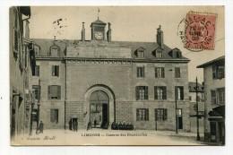 CP , MILITARIA , LIMOGES , Caserne Des Bénédictins - Casernes