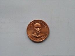 WARREN HARDING - Presidential Hall Of Fame ( 26 Mm./ 6.4 Gr. / 1968 Franklin Mint - For Grade, Please See Photo ) ! - Pièces écrasées (Elongated Coins)