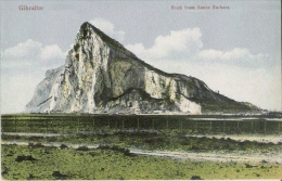 GIBRALTAR ROCK FROM SANTA BARBARA - Gibraltar