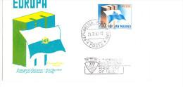 San Marino - Europa (MiNr: 781) 1963 - FDC - Europa-CEPT