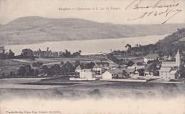 Cpa 38 Dauphiné Charavines Et Le Lac De Paladru Papeterie Des Alpes Eug. Robert - France
