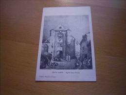 CPA 77 Vieux Lagny Eglise Saint Furcy - Port Simple Gratuit - Lagny Sur Marne